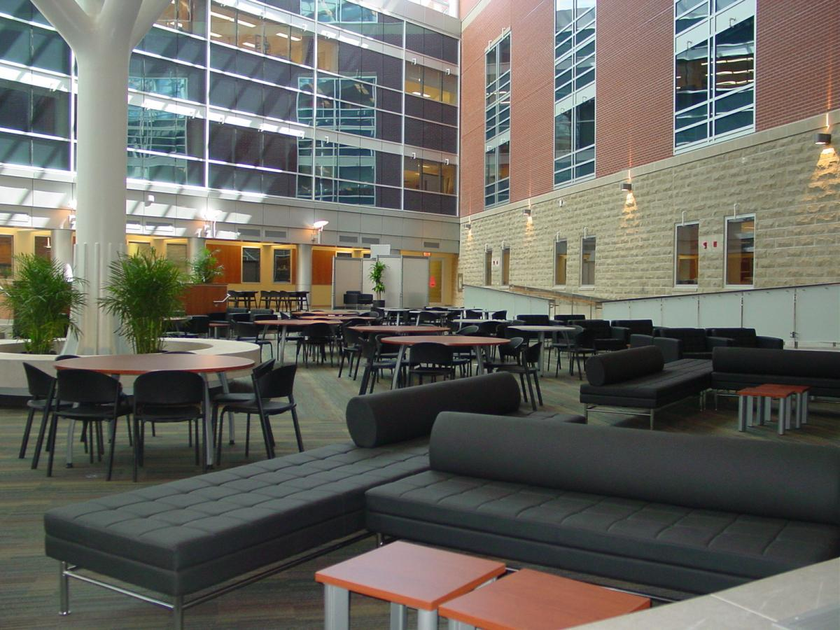 Summerlee Science Complex Atrium